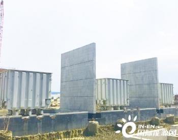 孟加拉国艾萨拉姆项目七台主变压器全部顺利吊装就位