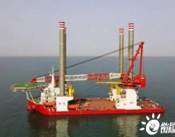 山东烟台打捞局完成山东省首台海上风机安装