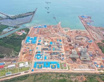 中国能建设计承建柬埔寨2台350MW燃煤电站首台锅炉