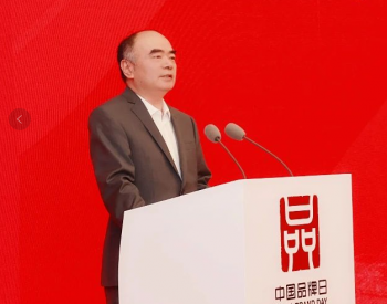 阳光电源曹仁贤出席中国品牌日活动发表主旨演讲