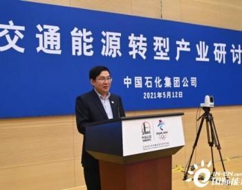 "<em>中国石化</em>:将逐步打造""油气氢电服""综合加能站"