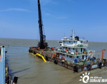 32小时!江苏如东H7海上风电工程220kV海缆中间