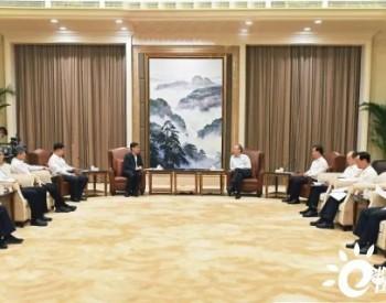 华能集团董事长舒印彪、总经理邓建玲会见福建省委书记尹力、省长王宁 共同助力碳达峰、碳中和
