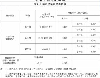 《上海市关于降低本市大工业<em>用电价格</em>的通知》发布