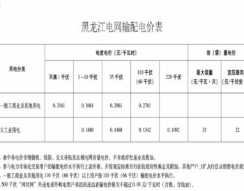 关于黑龙江电网2020—2022年<em>输配电价</em>和销售电价有关事项的通知