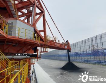 湖北荆州煤储基地一期工程3号作业线完成重载试车