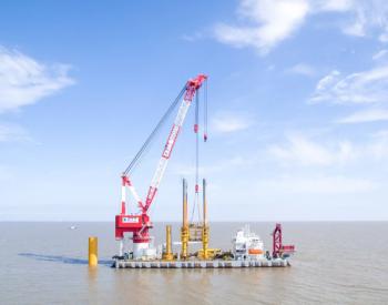 破纪录!中广核浙江嵊泗海上风电项目单日三台风机并网