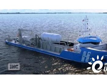 挖泥船巨头IHC开发零排放氢动力耙吸挖泥船概念