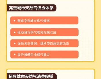 一图读懂广东省加快推进城市天然气事业高质量发展实施方案