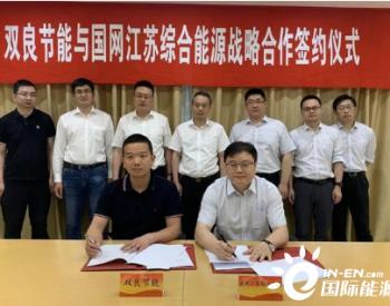 双良节能与国网江苏综合能源服务公司达成战略合作