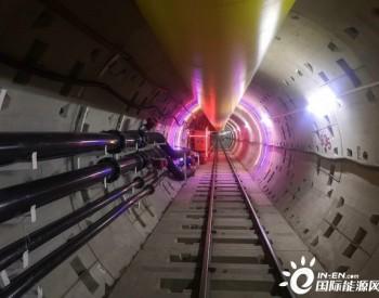 上海天然气主干管网崇明-长兴-浦东五号沟B线隧道贯通