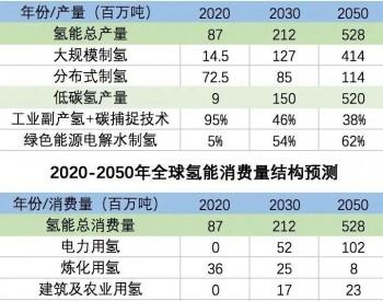 IEA:2050年实现碳中和需要5.2亿吨<em>低碳氢</em>气