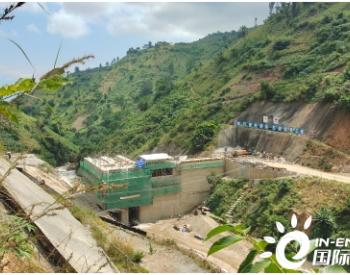布隆迪胡济巴济水电站大坝右岸全部封顶