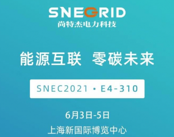 能源互联,零碳未来!SNEC2021,我们上海见!
