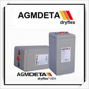 德国DETA DRYFLEX蓄电池德国银杉蓄电池供应
