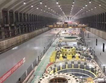 白鹤滩水电站右岸首批百万千瓦机组完成并网前站内