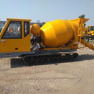 小型搅拌车 砂石料混凝土运输车工程地面建筑