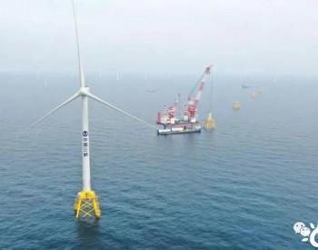 突破83万千瓦!三峡广东阳江沙扒<em>海上风电项目</em>吊装任务过半!