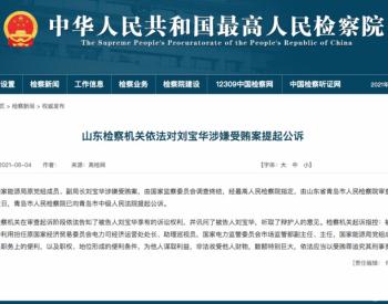 国家能源局原副局长刘宝华被公诉