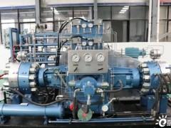 成本大幅下降,豫氢装备45MPa隔膜压缩机顺利通过检测