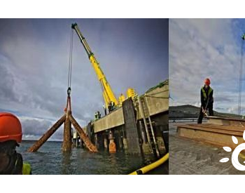 EMEC完成潮流能测试装置基础结构拆除的环境影响分析