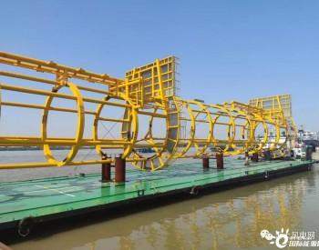 巨鑫钢管助力中船重工辽宁大连庄河海上风电场新能源建设