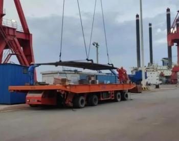 中船广西完成今年首批<em>风电塔筒</em>钢板卸船任务