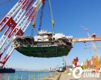 现代重工为墨菲石油建造半潜式生产平台完工出坞