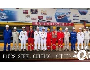 外高桥造船为EPS建造一艘15.8万吨苏伊士原油轮开