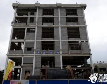 华能威海电厂海水淡化项目建设进入冲刺阶段