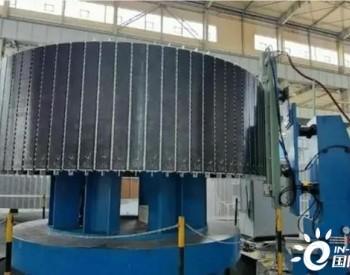 我国首台套大型永磁电机整体充磁装备研制成功