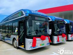 新源动力提供电堆,辽宁大连40台氢能公交投运