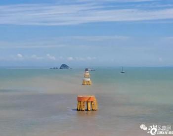 中广核浙江嵊泗5#6#海上风电项目完成全场风机基础承台浇筑