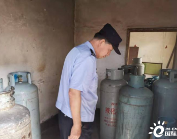 宁夏:惠农区公安分局查处非法储存销售液化气窝点