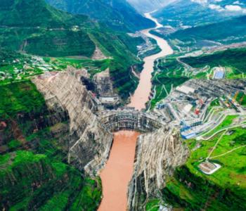 全球首台百万千瓦水轮发电机组发出第一度电!