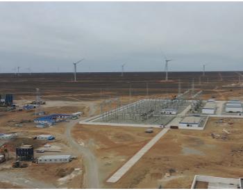 甘肃单机容量最大风电机组在瓜州并网发电