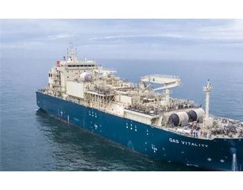 沪东中华第二艘18600立方米LNG加注船常规<em>试航</em>凯旋