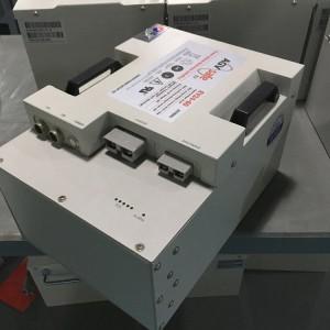 霍克锂电池EV48-100/48V100AH (1C)放电