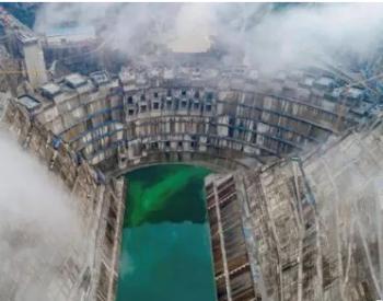 全球首台百万千瓦水轮发电机组发出第一度电