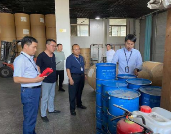 河南鹤壁开展2021年涉挥发性有机物行业企业专项执法行动