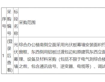 招标 | 河北省黄骅市吕桥镇87.6兆瓦渔光互补光伏发电项目综合智慧能源(<em>光伏幕墙</em>)采购招标公告