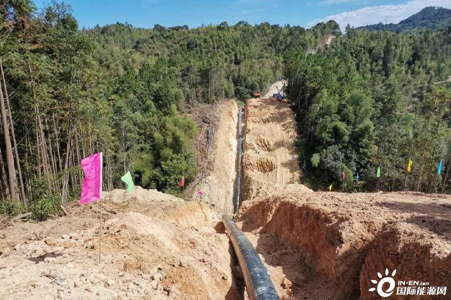 福建省海西天然气管网二期工程开工-国际燃气网