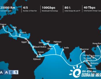 AAE-1海底光缆越南段修复推迟至7月1日进行