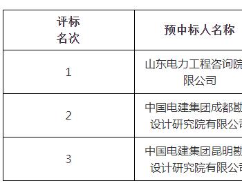 中标丨山东发展投资(长岭)50万千瓦风电项目工程总承包(EPC)项目预中标公示