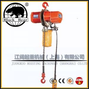 单链条冠亚电动葫芦-2吨5米冠亚环链葫芦带遥控