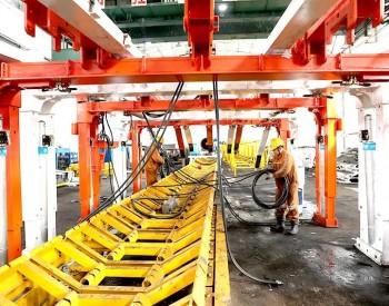 乌海能源首套快速掘进系统完成安装调试工作