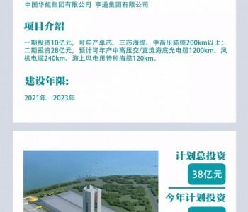 江苏盐城新能源重点在建项目——亨通电缆进度戳进