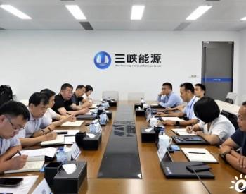 三峡能源与辽宁省阜新市座谈 就<em>源网荷储项目</em>进行深入交流