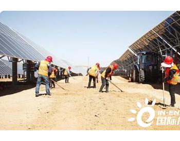 国家能源集团神东布尔台生态+光伏基地经济生态效