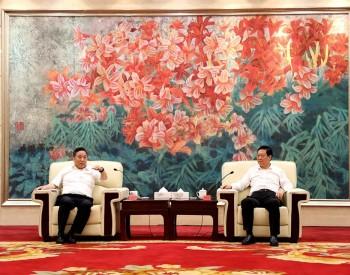中国能建与甘肃张掖市共推加强清洁低碳能源开发、新能源系统建设